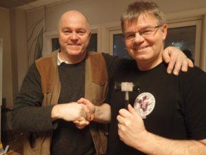 Tore Kallekliev og Anders Simensrud. Foto: Signe Karin Hotvedt