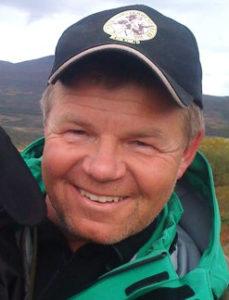 Anders Simensrud og KV Cola på Hjerkinn