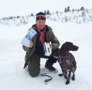 Hans Petter Blokkum og Vessinglias Sofi