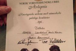 16 hunder fikk NVKs avlspris for 2014