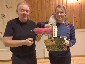Therese Hansen og Arild Walter Hansen. Foto: SKH