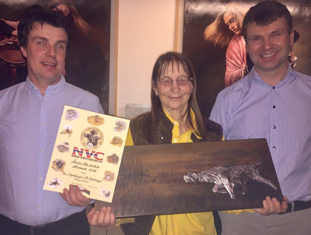Randi Schulze med premie og diplom i NVC 2016