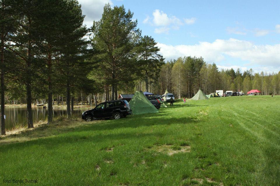 God plass til telt, campingvogner og bobiler. Buhol landssamnling 2015