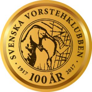 Svenska Vorstehklubben 100 år logo