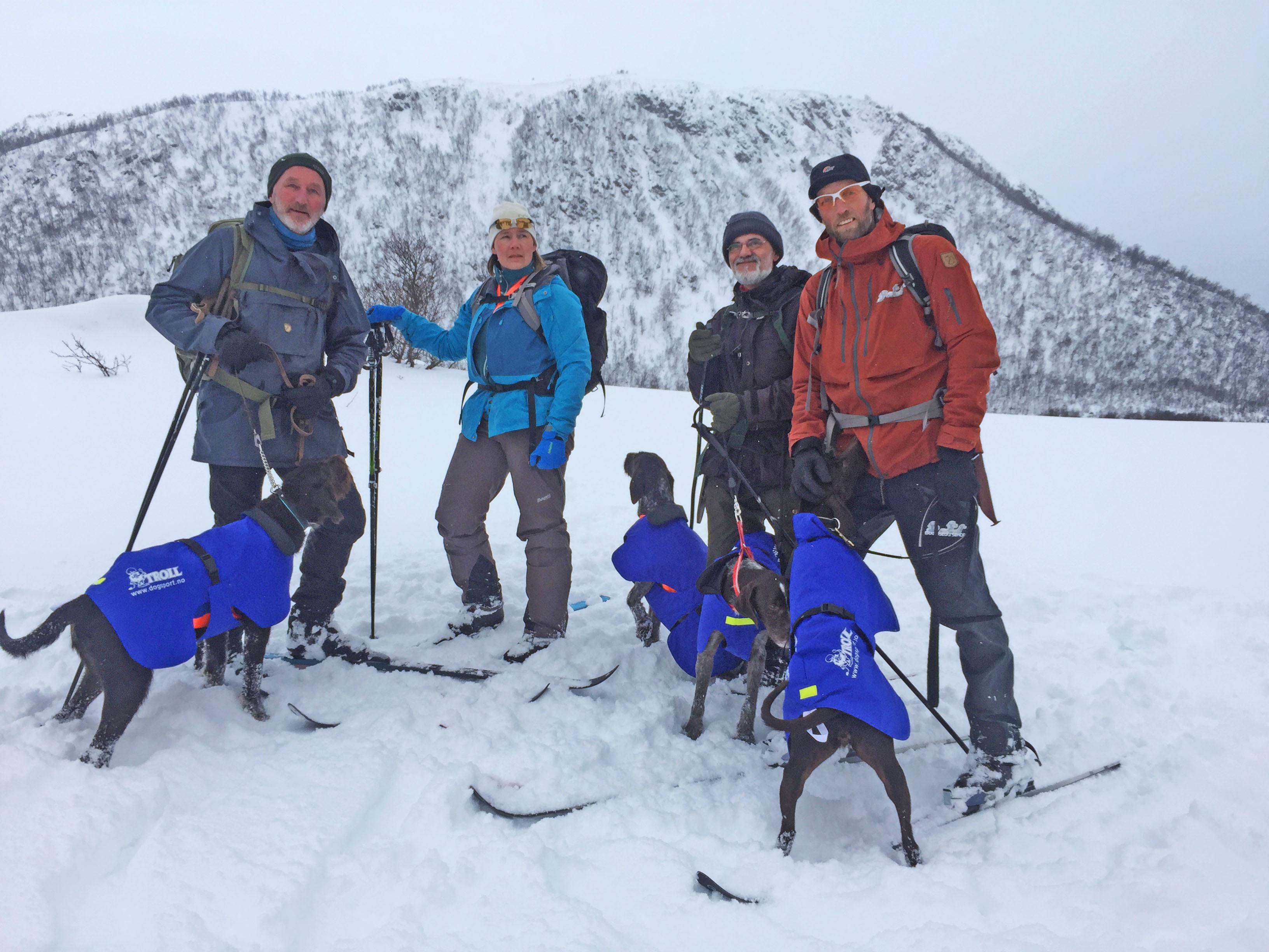 SV laget NM: Sigmund Nyborg, Trude Langstrand, Torgeir Dahl, Rune Fossum