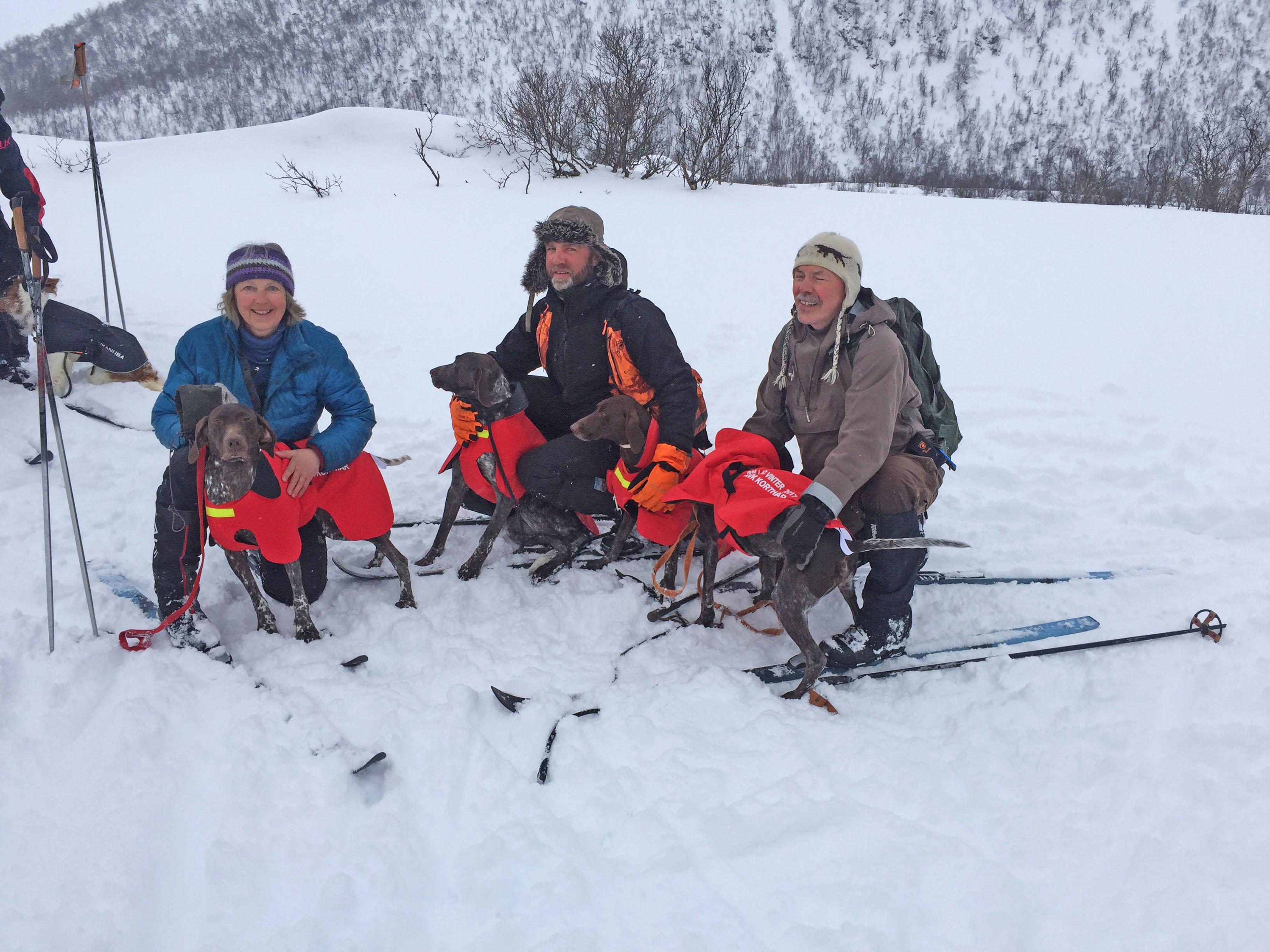 Korthårlaget NM vinter 2017