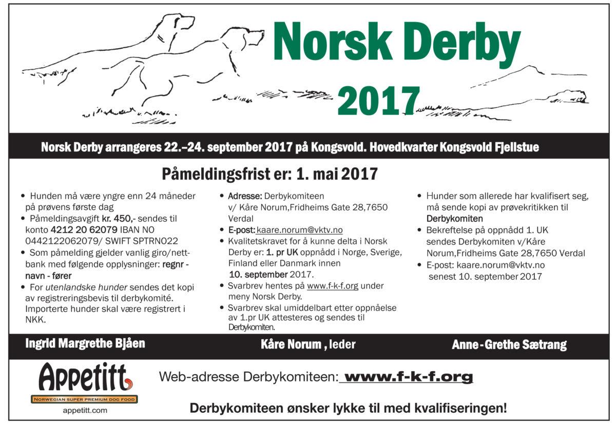 Norsk Derby 2017