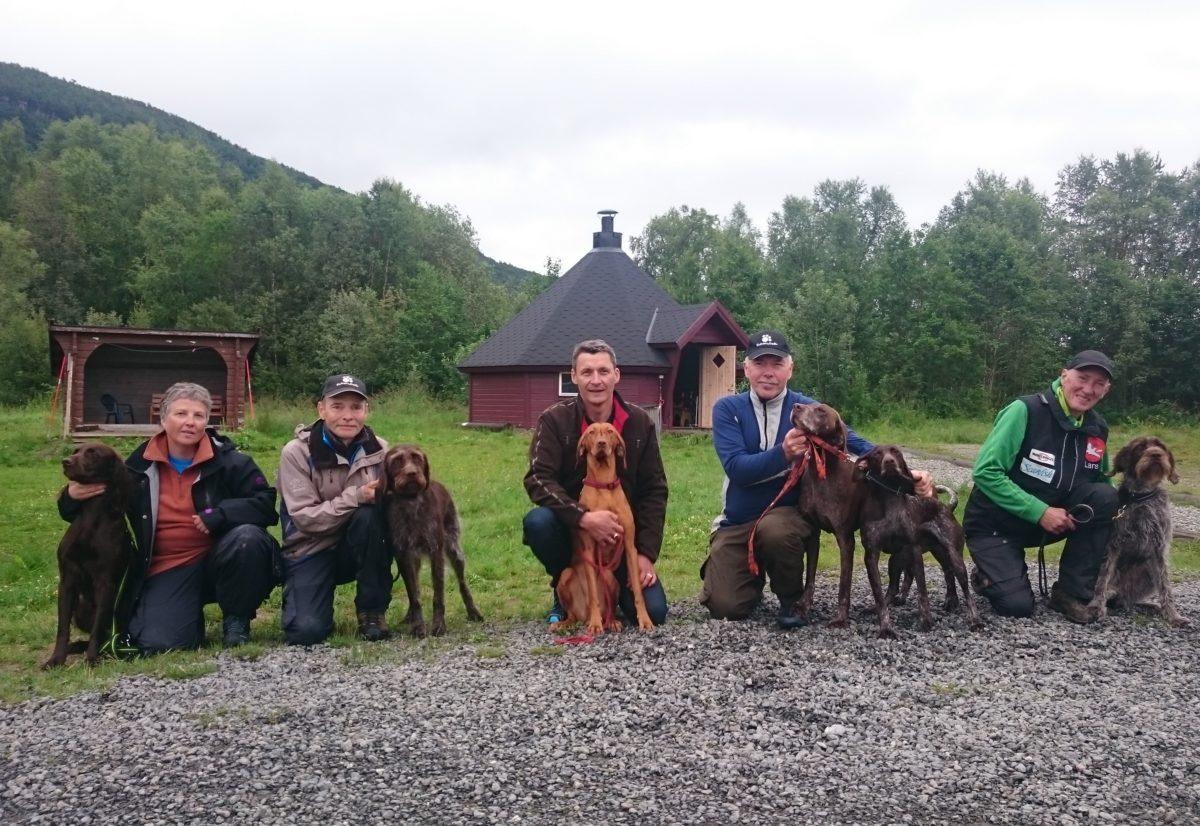 Vorstehtreffet i Troms 28.-30.juli