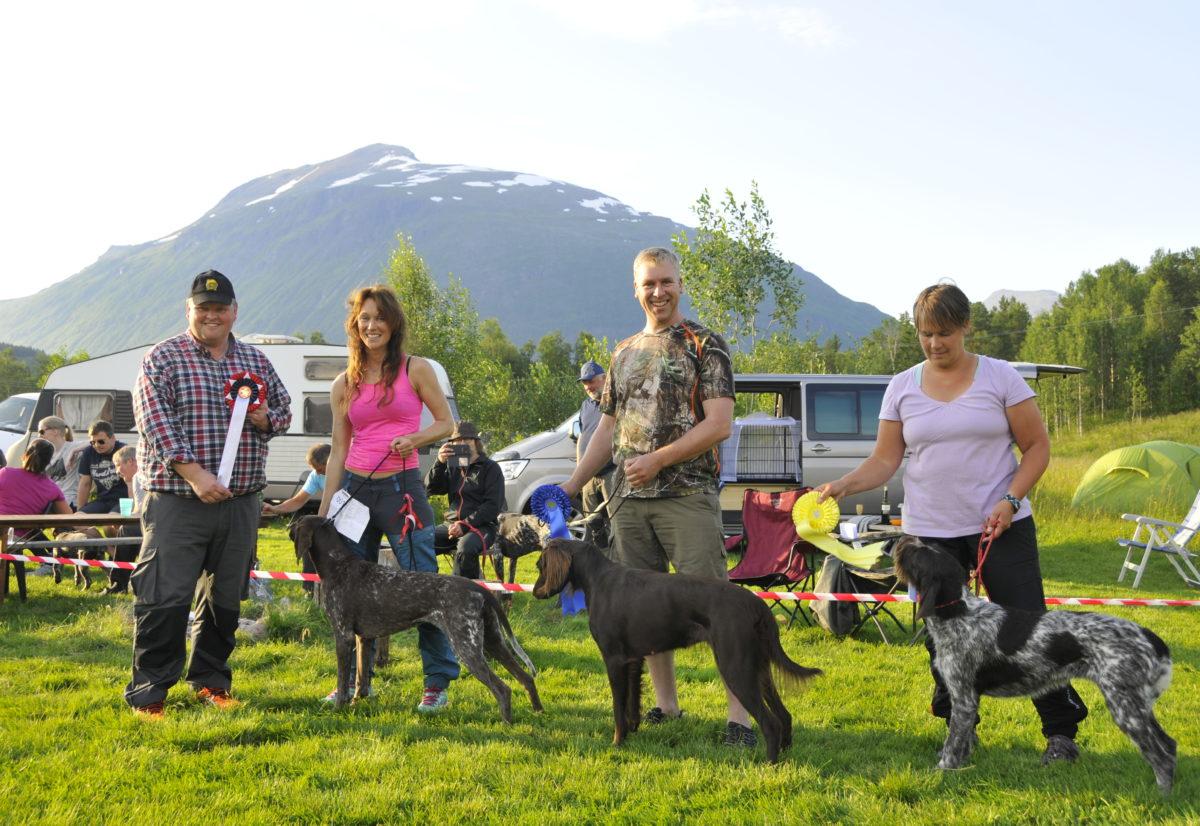 Vorstehtreffet 2017 i Troms