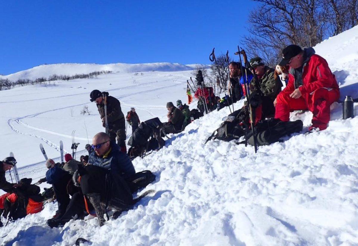 Treningssamling vinter i Uvdal 2019