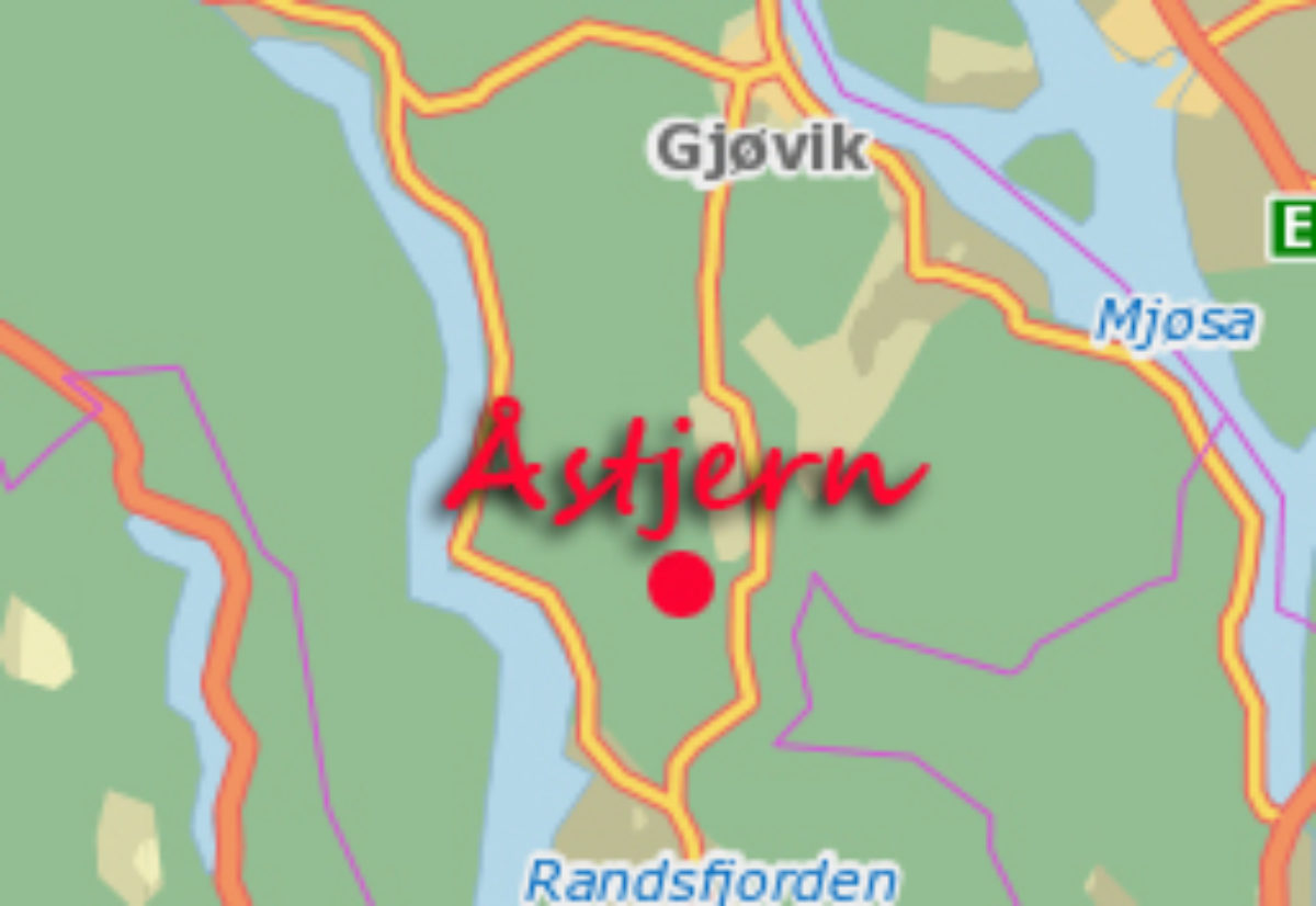 Partilistene for Åstjern