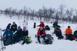 Treningssamling på fjellet i Uvdal
