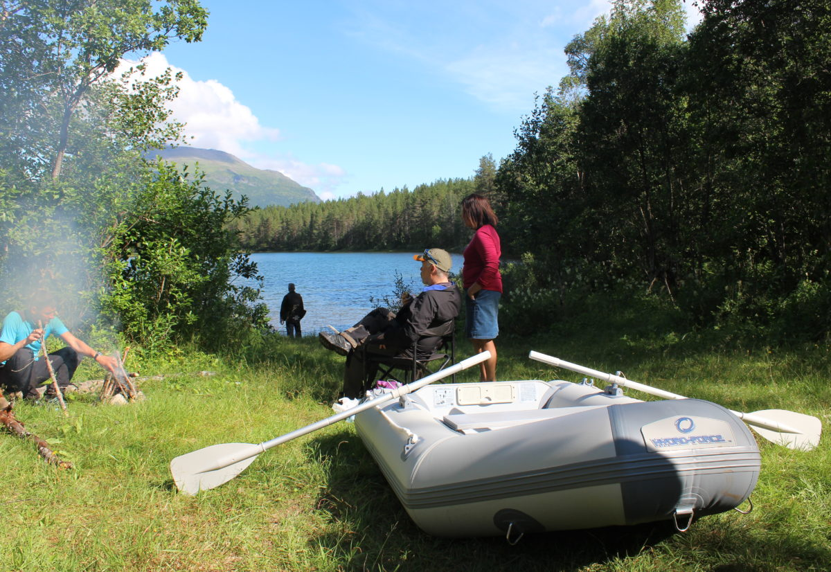 Treningssamling og apportprøve i Troms 29.-30.juni