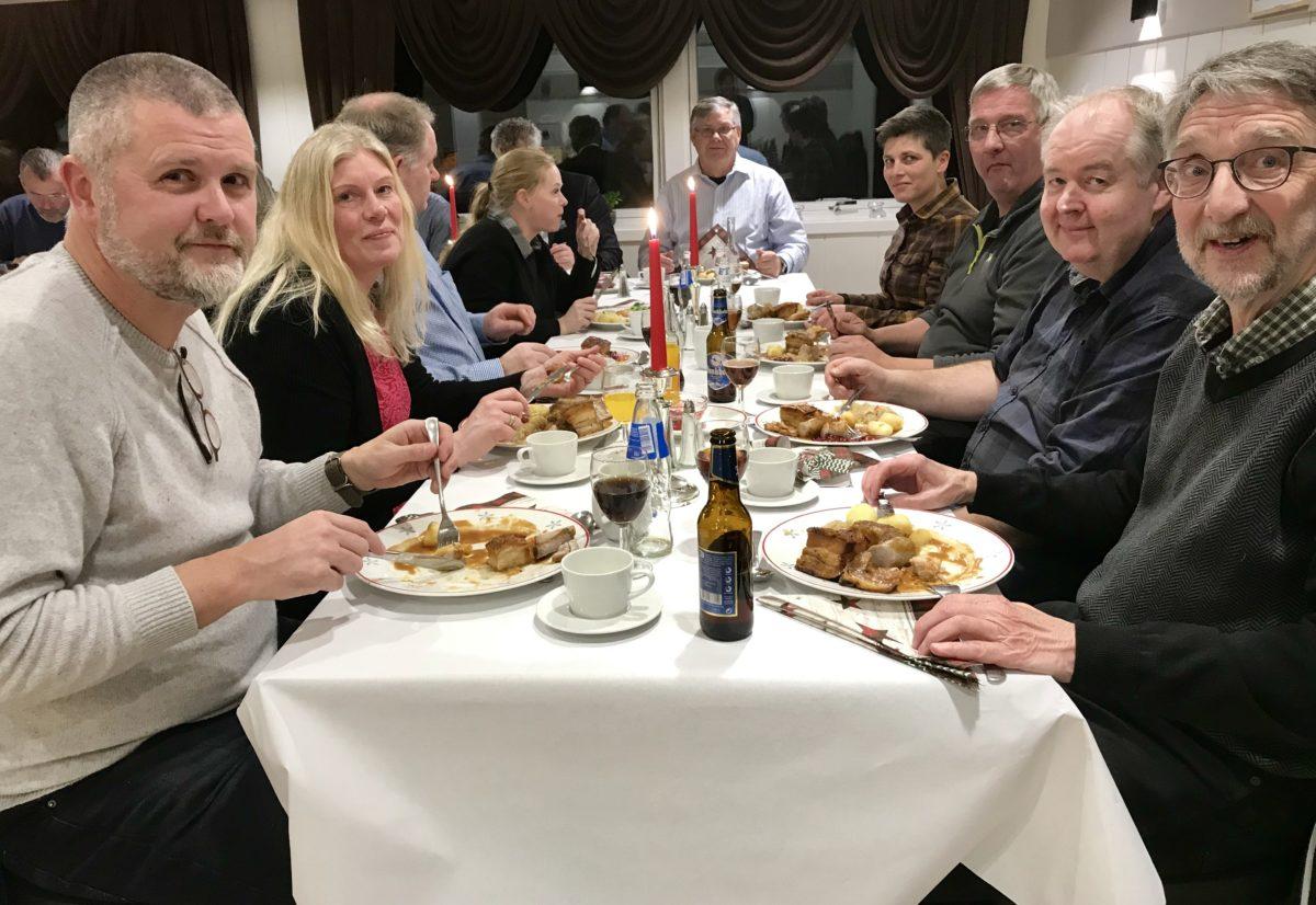 Årsmøte og julebord 4. des. 2019 i Buskerud