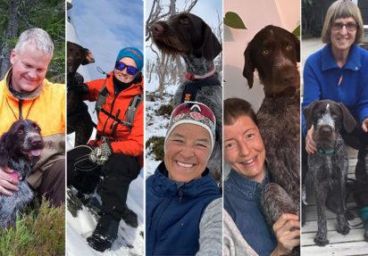 Hils på Trude, Julie, Helge, Ruth Hege og Unn!