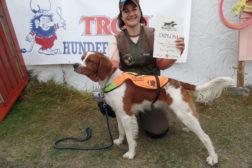 Premierte hunder på Trippelprøven
